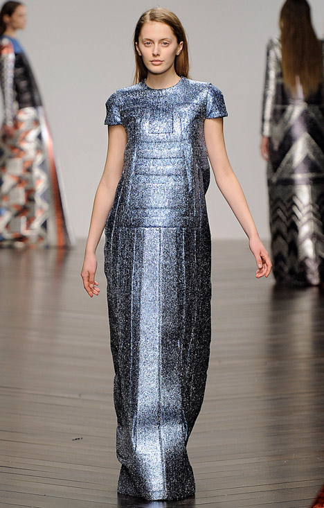 Sadie-Williams-Totemic-metallic-neoprene-fashion-collection_dezeen_2