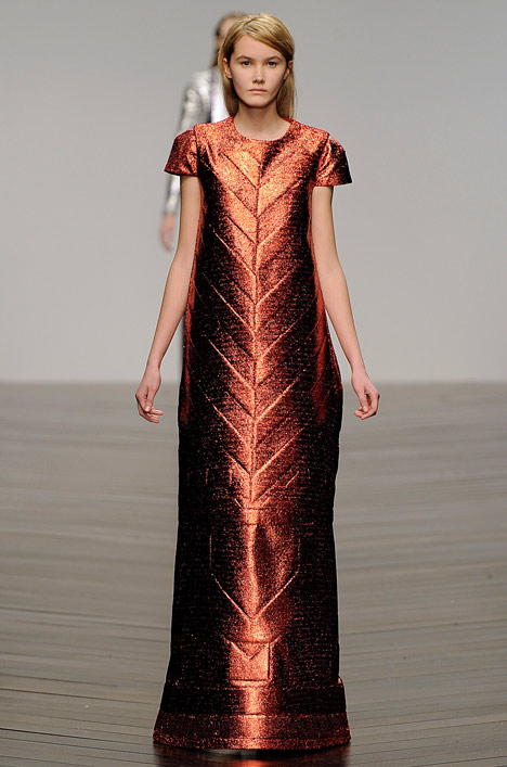 Sadie-Williams-Totemic-metallic-neoprene-fashion-collection_dezeen_5