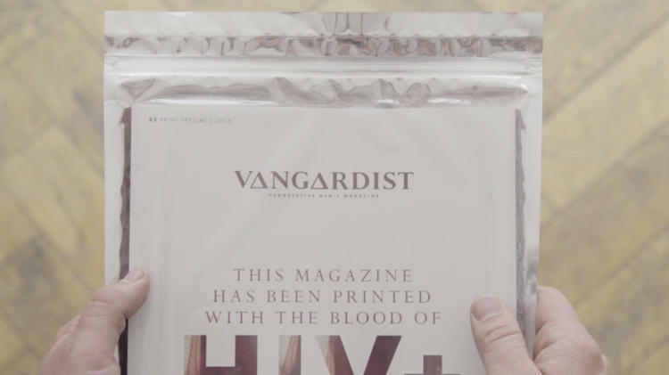 3045711-slide-s-1-to-help-destigmatize-hiv-victims-this-magazine-was-printed-with-infected-blood